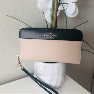 KATE SPADE STACI LARGE FLAT CONTINENTAL WALLET NWT